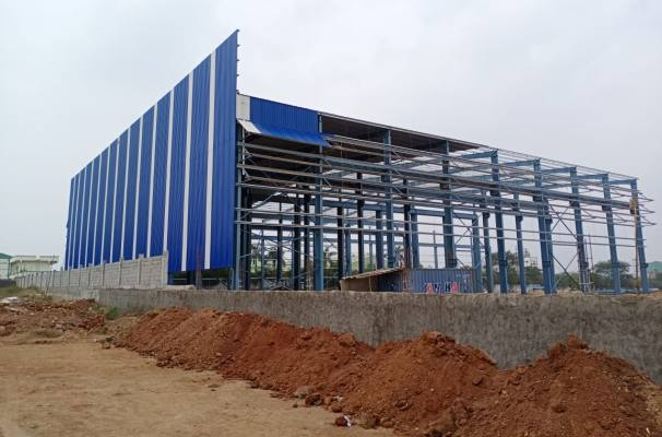 Standard glass new 2020 facility construction 1