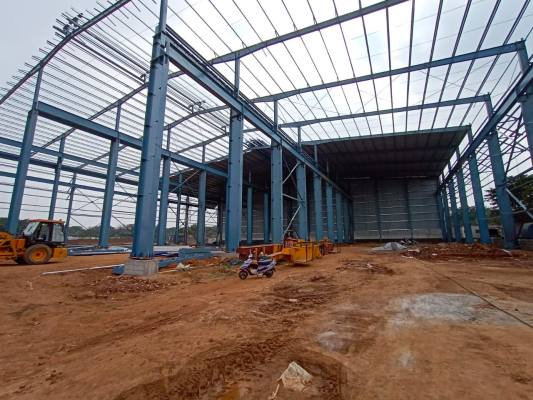 Standard glass new 2020 facility construction 2